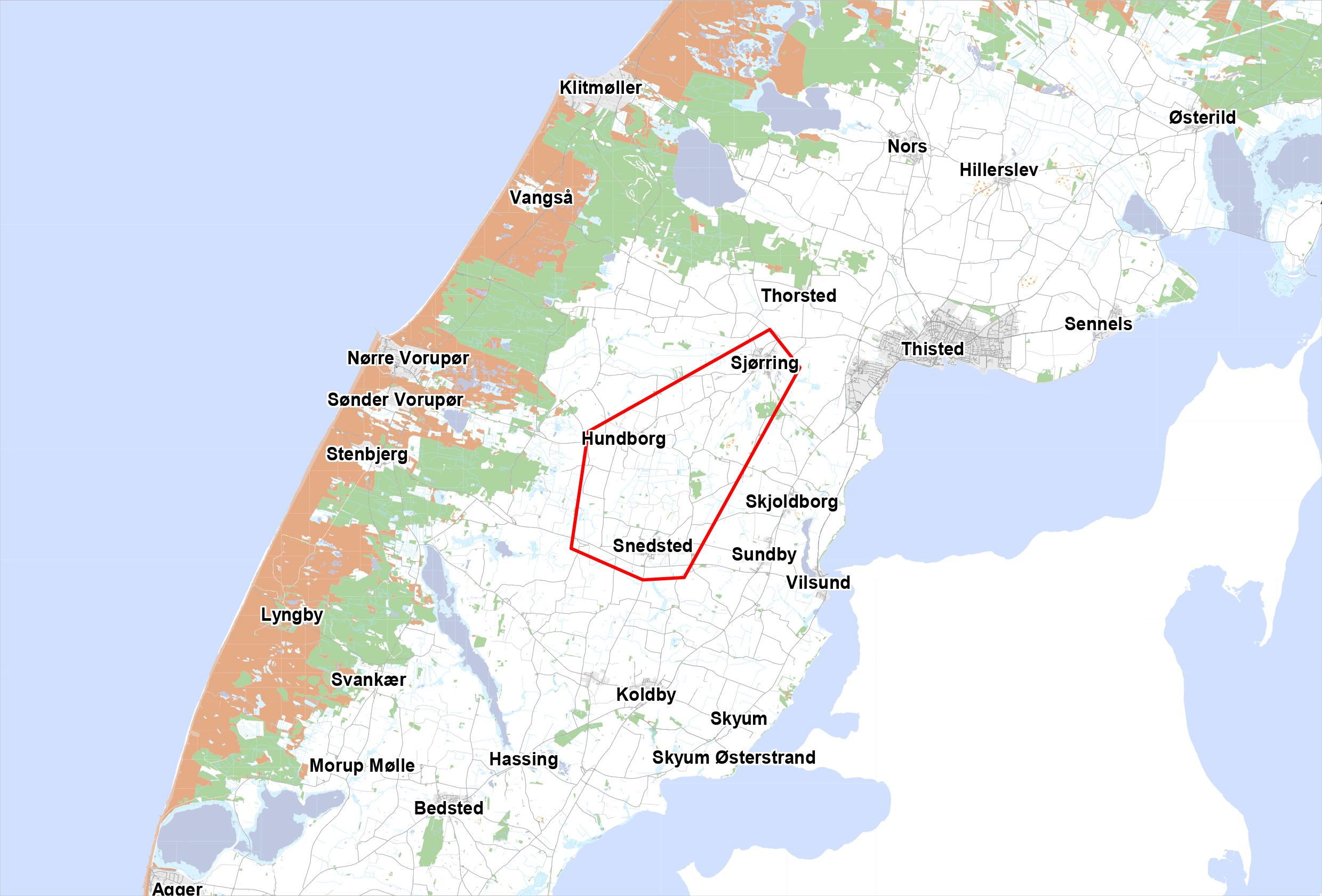 Thisted Omradefornyelse Sjorring Snedsted Og Hundborg